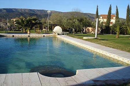 piscina de la Posada Tres Mentiras