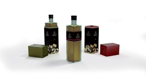 Botellas de aceite O-MED