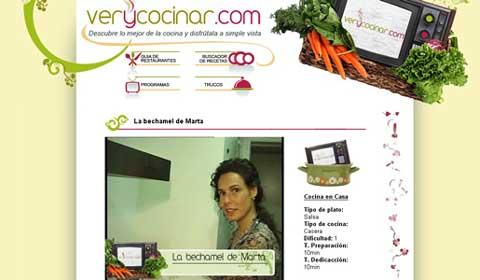 Imagen dela web Very Cocinar