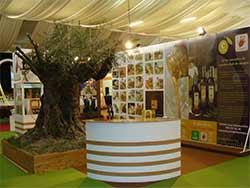 imagen del stand de D. O. Estepa en Turiarte