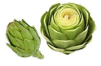 imagen de unas alcachofa