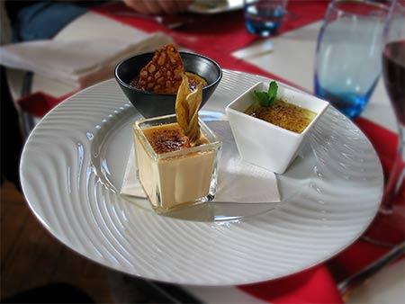 imagen de Trio de crèmes brulées (Baileys, fraise des bois, Get 27)