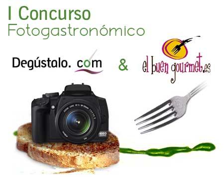 imagen del cartel del concurso fotográfico degustalo-el buen gourmet