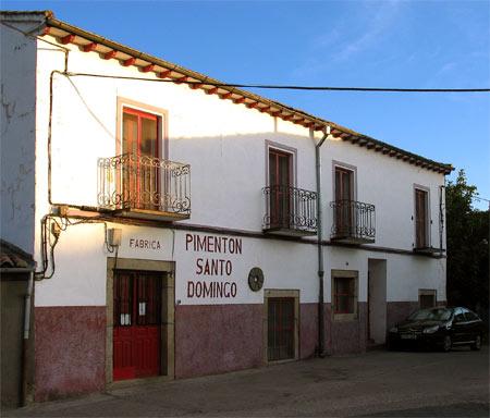 Fábrica de Pimentón Santo Domingo