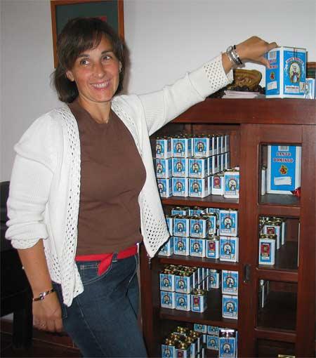 latas del Pimentón Santo Domingo
