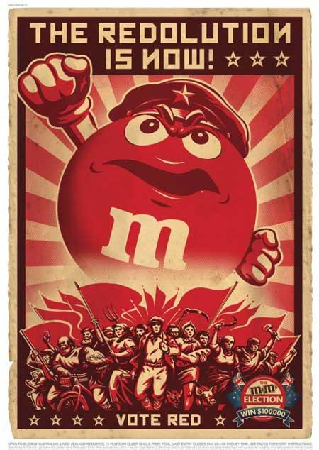 M&M's a las Barricadas