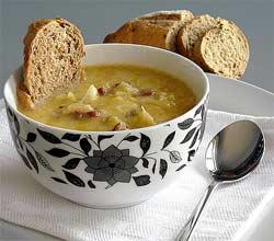 Zuppa di pane e cavolo