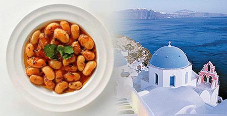 Fassoláda (sopa de judías a la griega)