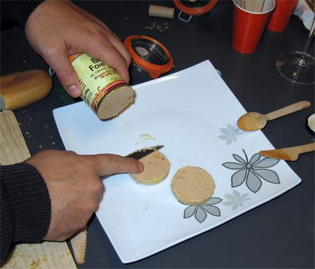 bloc de foie de noespate