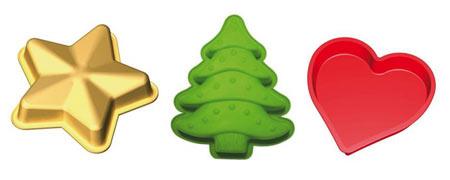 Moldes navideños de Lékué