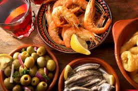 Tapeo typical spanish
