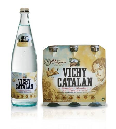 Botella de Vichy Catalán