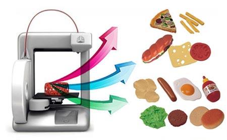 Impresión 3D en la cocina