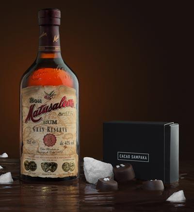 Matusalem Gran Reserva 15 y el mejor chocolateo