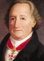 Retrato de Johann Wolfganga Goethe